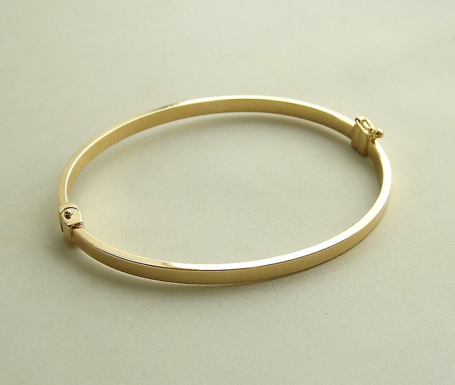 Yellow Gold Christian slave bracelet