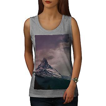 Sommet de la montagne Nature nuageux femmes GreyTank | Wellcoda