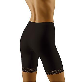 Wolbar Frauen Rona schwarz Lichtsteuerung Schlankheits-Gestaltung hohe Taille langes Bein kurz