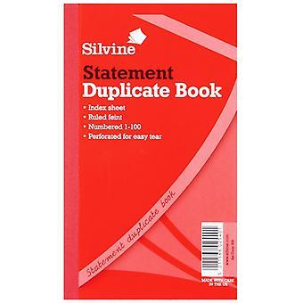 سيلفين مكررة الخدعة الكبيرة أوراق 200 كتاب البيان (حزمة من 6)