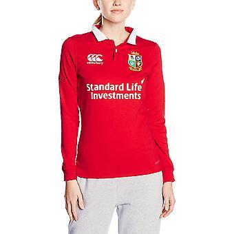 British & Irish Lions Womens/Ladies Vapodri Wicking Long Sleeve Jersey