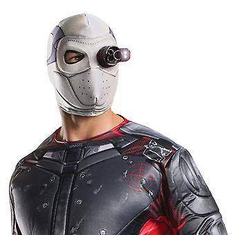 Deadshot Light Up Suicide Squad Supervillain DC Comics Con Mens Costume Mask