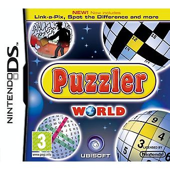 Puzzler World (Nintendo DS) - New
