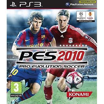 Pro Evolution Soccer 2010 (PS3) - Nouveau