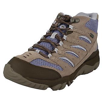 Ladies Merrell Walking Boots White Pine Mid Vent WTPF