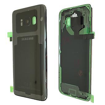 Samsung Galaxy S8 - SM-G950 - hintere Abdeckung - schwarz