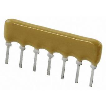 BOURNS 4607X-101-103LF Rezistor scara 10 kΩ radial plumb SIP 7 0,2 W 1 buc (e)