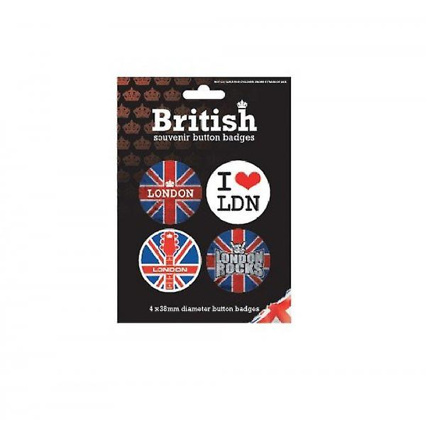 Union Jack Wear Union Jack London Badges