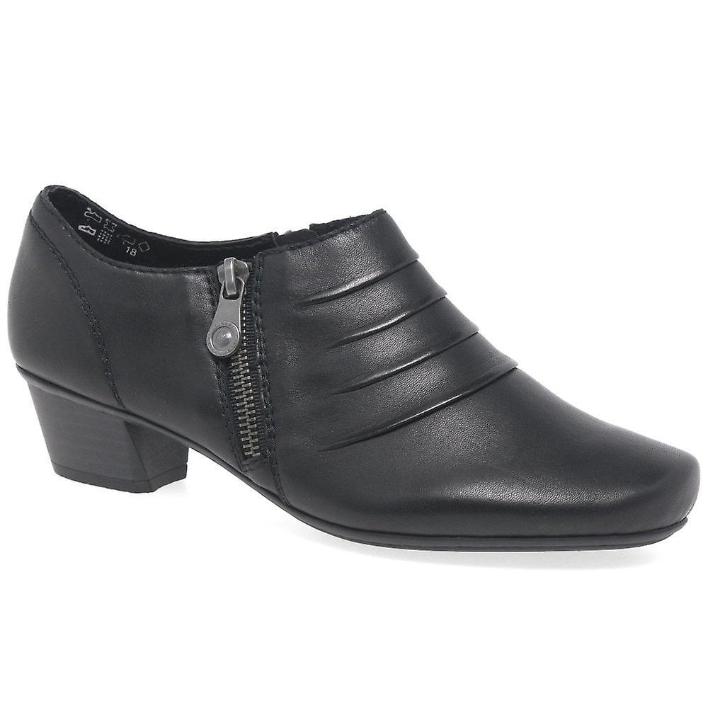 Rieker Karla Womens High Cut zamkiem błyskawicznym buty t8U1G