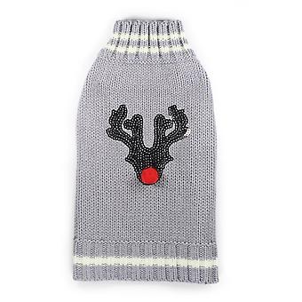 Hip Doggie Reindeer Sweater