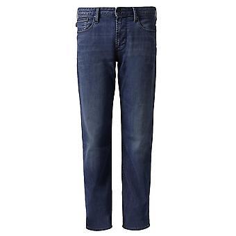 Emporio Armani J06 Slim Fit Blue Wash Jean