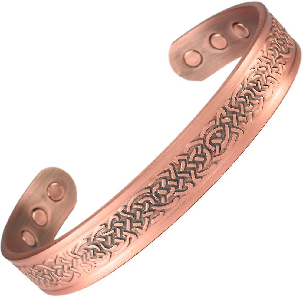 MPS® NAYAN Pure Copper Magnetic Bangle with 6 Magnets with Luxury Gift Pouch