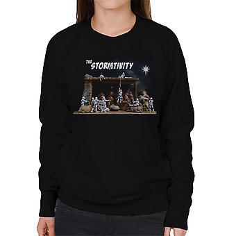 Original Stormtrooper The Christmas Stormtivity Star Women's Sweatshirt
