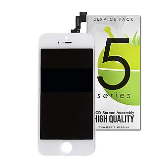 Quality Replacement For iPhone 5S LCD Screen Assembly - White