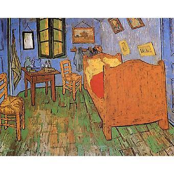 The Artist-s Bedroom in Arles,Vincent Van Gogh,50x40cm