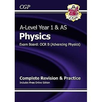 Nueva física de un nivel - OCR B año completo y 1 revisión y práctica w