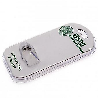 Celtic FC RVS Stud Earring