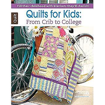 Täcken för barn: från spjälsäng till College