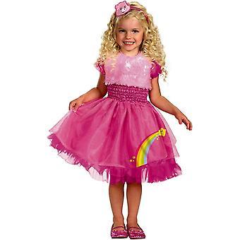 Costume enfant princesse arc-en-ciel