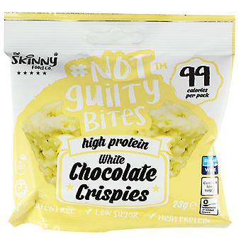 Skinny Foods Not Guilty Bites  White Chocolate Crispies 23g x 5 Pack