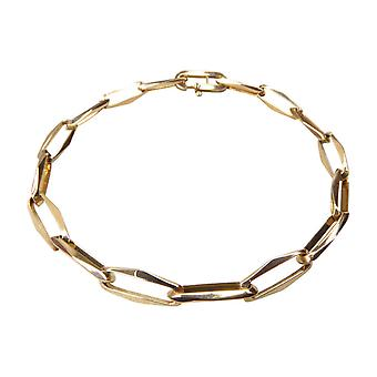 14 carat yellow gold closed forever switchbracelet