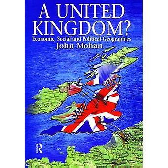 Ein Vereinigtes Königreich Wirtschafts-Sozial- und politische Regionen von Walters & Julie
