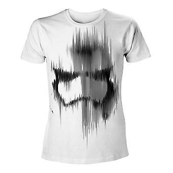 StarWars voima herättää miesten ahdistuneita Stormtrooper t-paita L valkoinen TS204396STW-L