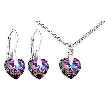 Ah! Sieraden geslepen licht hart kristal van Swarovski
