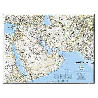 The Middle East by National Geographic Maps - 9780792250227 Book