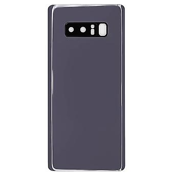 Orchid Grey Back Cover & Camera Lens For Samsung Galaxy Note 8