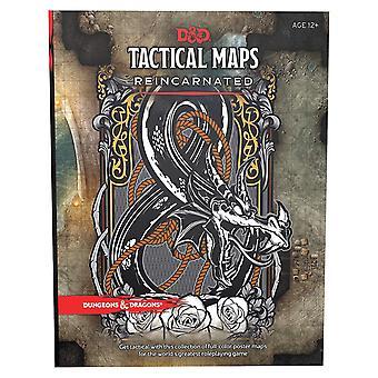 Dungeons și dragoni RPG tactici hărți reincarnated bord joc