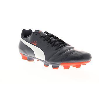 Puma EvoPower 4 FG Herren Blau Low Top Athletic Soccer Cleats Schuhe