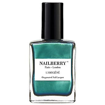 NailBerry Nail Polish Oxygenated Green Therapy Nail Lacquer Collection - Glamazon 15ml