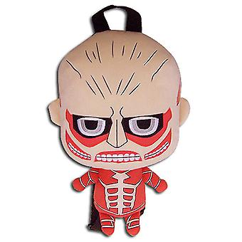 Plush Backpack - Attack on Titan - Colossal Titan New Licensed ge84611