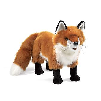 Hand Puppet - Folkmanis - Fox Red New Animals Soft Doll Plush Toys 2876