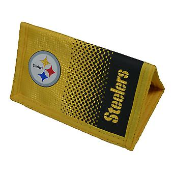 NFL Pittsburgh Steelers Official Fade Football Crest Wallet