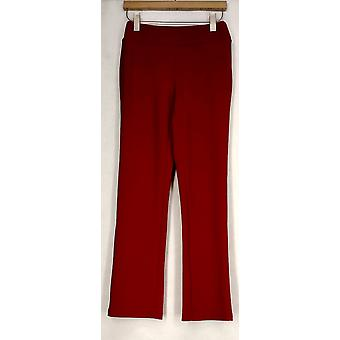 "Colleen Lopez Pants ""On The Go"" Lounge Pant Red Womens 428-261"