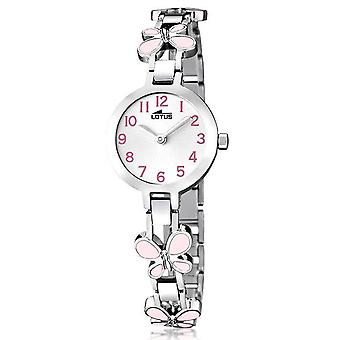 Lotus junior Quarz Analog Kinderuhr mit 15829/2 Edelstahl Armband