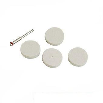Silverline Outil en rotation des disques à polir en feutre