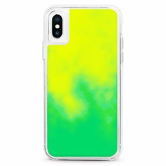 Fall CoolSkin Liquid Neon TPU für iPhone X - XS Green