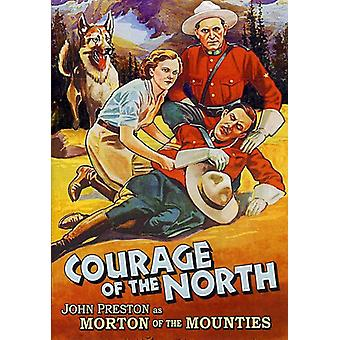 Morton of the Mounties: Courage of the North [DVD] USA import