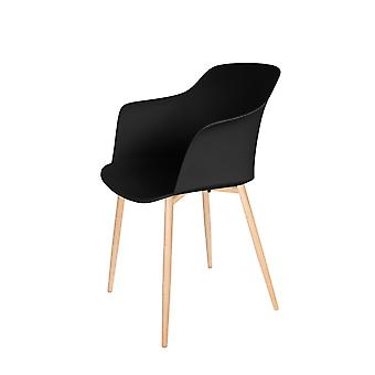Chaise Design Fauteuil Chaises Bowl Chaise Retro Dining Room All Black