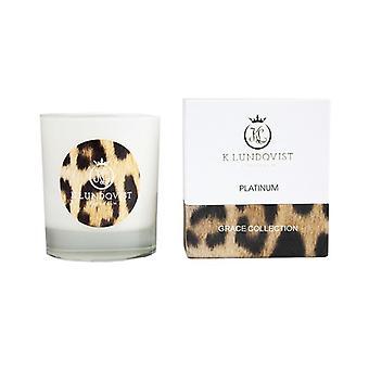 Scented candle, K. Lundqvist-Platinum Leopard