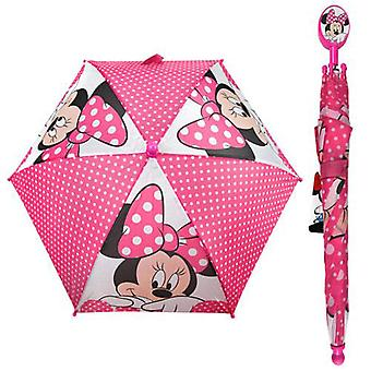 Umbrella - Disney - Minnie Mouse Pink  Kids/Youth New 284161-2