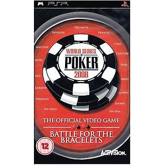 World Series of Poker 2008 kamp for armbåndene (PSP)-nye