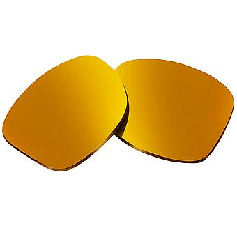 Polarized Replacement Lenses for Oakley Holbrook Sunglasses Gold Anti-Scratch Anti-Glare UV400 by SeekOptics