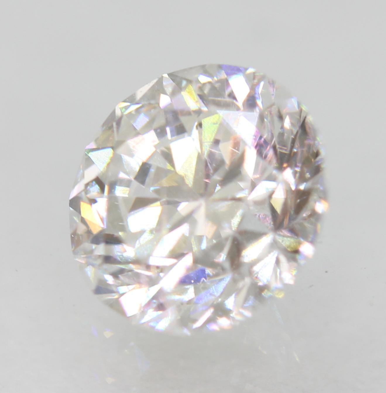 Certified 1.01 Carat D VS1 Round Brilliant Enhanced Natural Loose Diamond 6.19mm