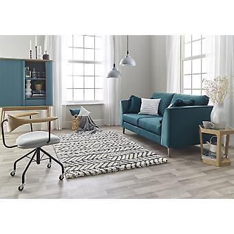 Andante 7110B Weiß grau Rechteck Teppiche traditionelle Teppiche