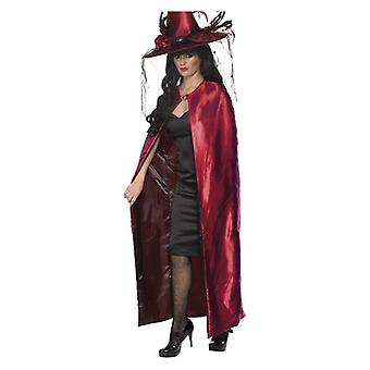 Womens Reversible Cape Fancy Dress Zubehör