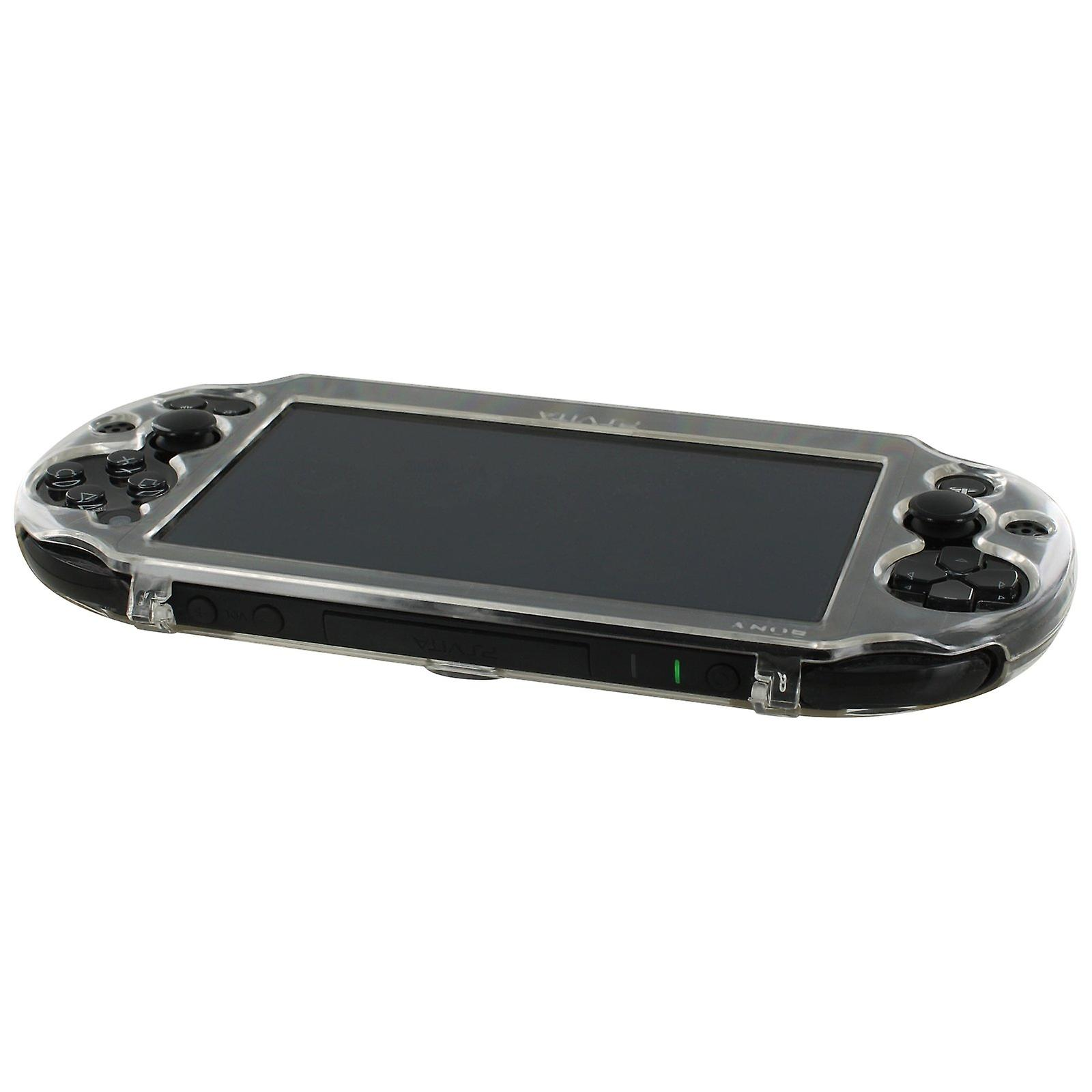 Polycarbonate hard case cover shell protective armour for sony ps vita 2000 slim - clear